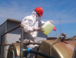 Sanificazione serbatoi acqua